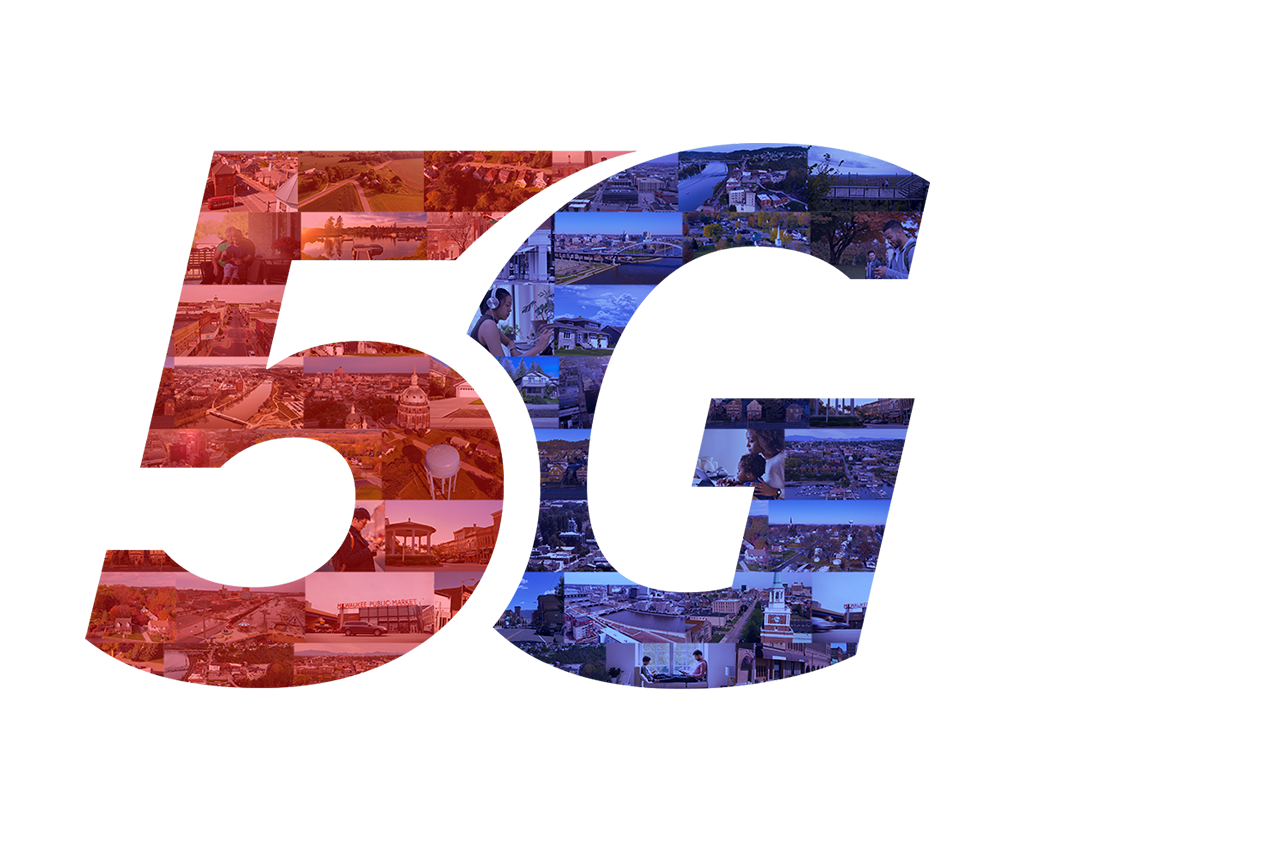 UScellular 5G cities logo